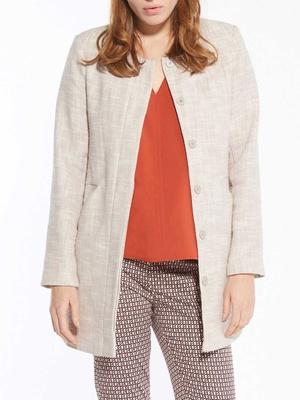 Manteau natté, poitrine standard