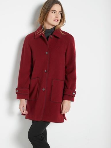 Manteau caban 70% laine
