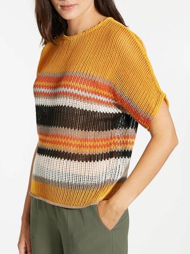 Pull en maille crochet
