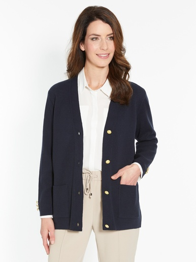 Gilet maille milano manches longues