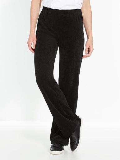 Pantalon de détente maille velours
