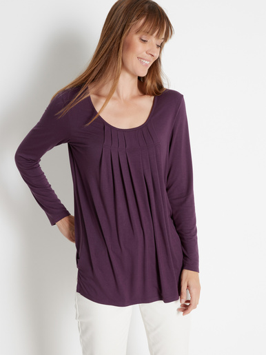 Tee-shirt tunique manches longues - Kocoon -
