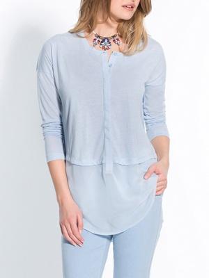 Tee-shirt tunique vous mesurez + d'1,60m