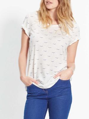 Tee-shirt imprimé, manches courtes