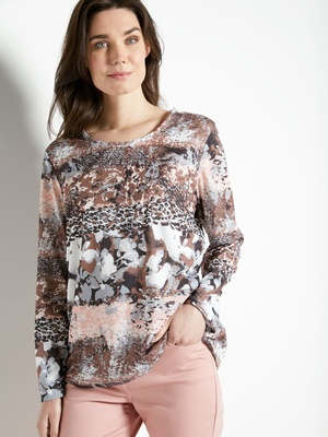 Tee-shirt manches longues maille douce
