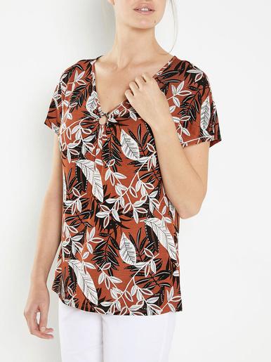 Tee-shirt avec boucle fantaisie