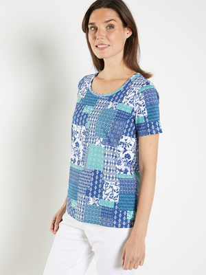 Tee-shirt tunique pur coton