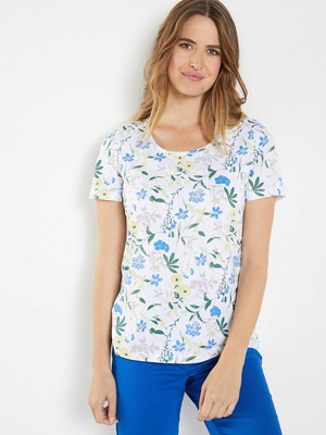 Tee-shirt tunique pur coton
