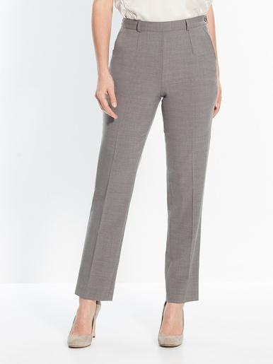 Pantalon ventre plat stature - d'1,60m - Balsamik - Gris