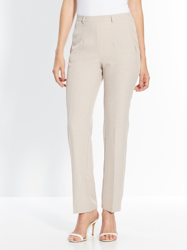 Pantalon gainant vous mesurez - d'1,60m - Balsamik - Beige
