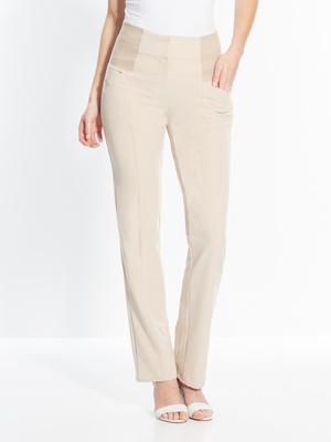 Pantalon extensible élastiqué taille