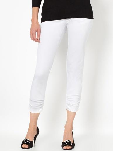 Pantalon raccourci - Anne Weyburn - Blanc cassé