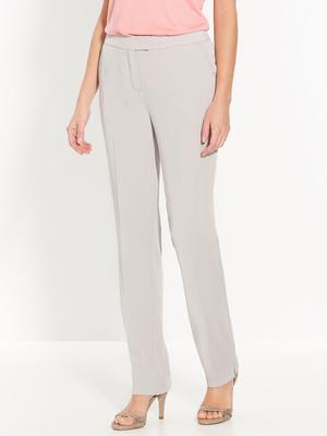 Pantalon classique en tissu sergé
