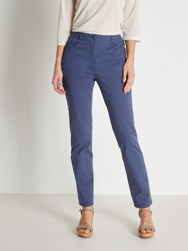 Pantalon droit vous mesurez - d'1,60m - Kocoon - Bleu indigo