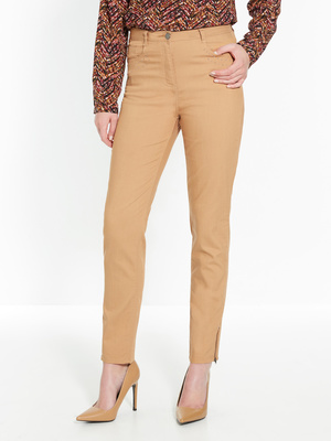 Pantalon fuselé 7/8ème, bas zippé