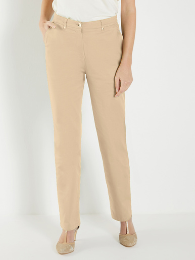 Pantalon gainant coupe taille haute