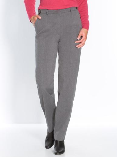 Pantalon réglable stature - d'1,60m - Charmance - Gris