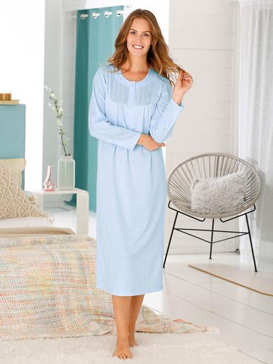 Chemise de nuit unie - Lingerelle - Bleu