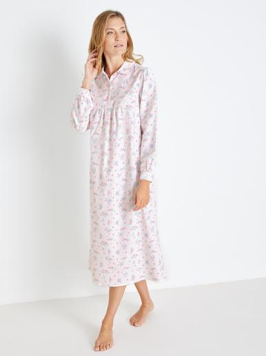 Chemise de nuit en flanelle