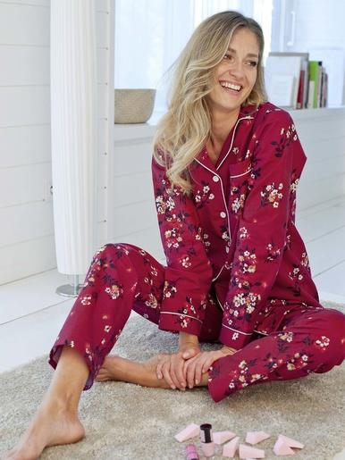 Pyjama en flanelle pur coton