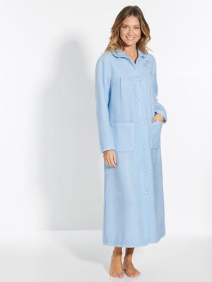 Robe de chambre col Claudine courtelle