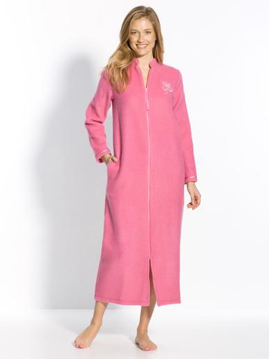 Robe de chambre zip molleton courtelle
