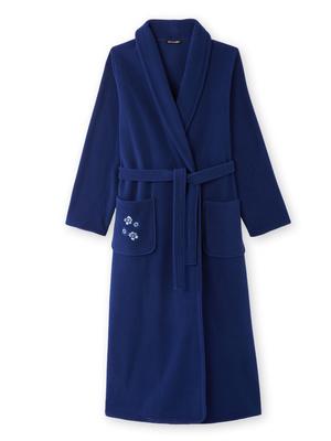 Robe de chambre col châle long 125cm