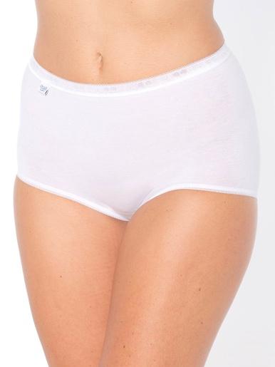 Culottes maxi en lot de 3 - Sloggi - Blanc