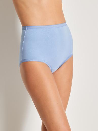 Culottes maxi légèrement gainantes - Balsamik - Parme+blanc+bleu