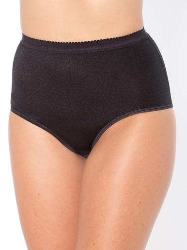 Culottes gainantes maxi lot de 3 - Balsamik - Noir