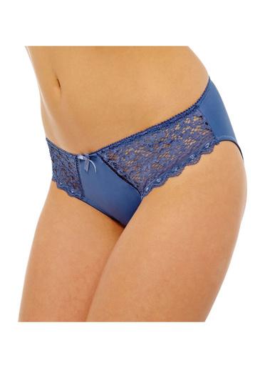 Slip grand confort Elena - Pommpoire - Bleu