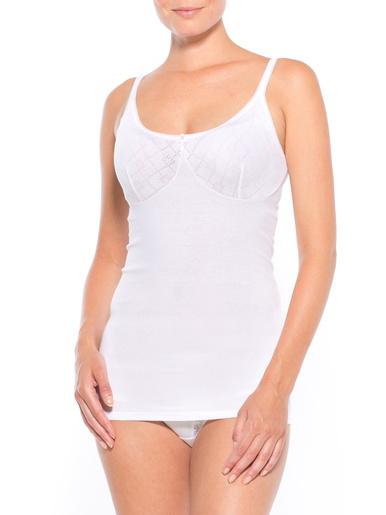 Chemises fines bretelles lot de 2 - Lingerelle - Blanc