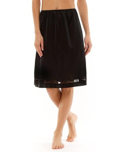 Jupon longueur 60cm lot de 2 - Lingerelle - Noir