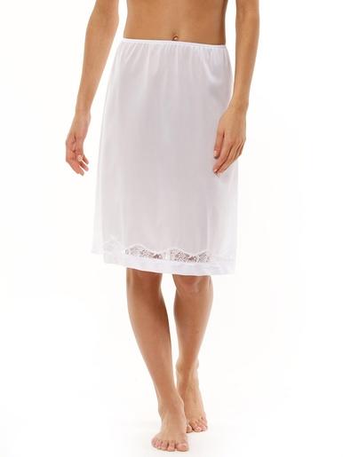 Jupon longueur 60cm lot de 2 - Lingerelle - Blanc