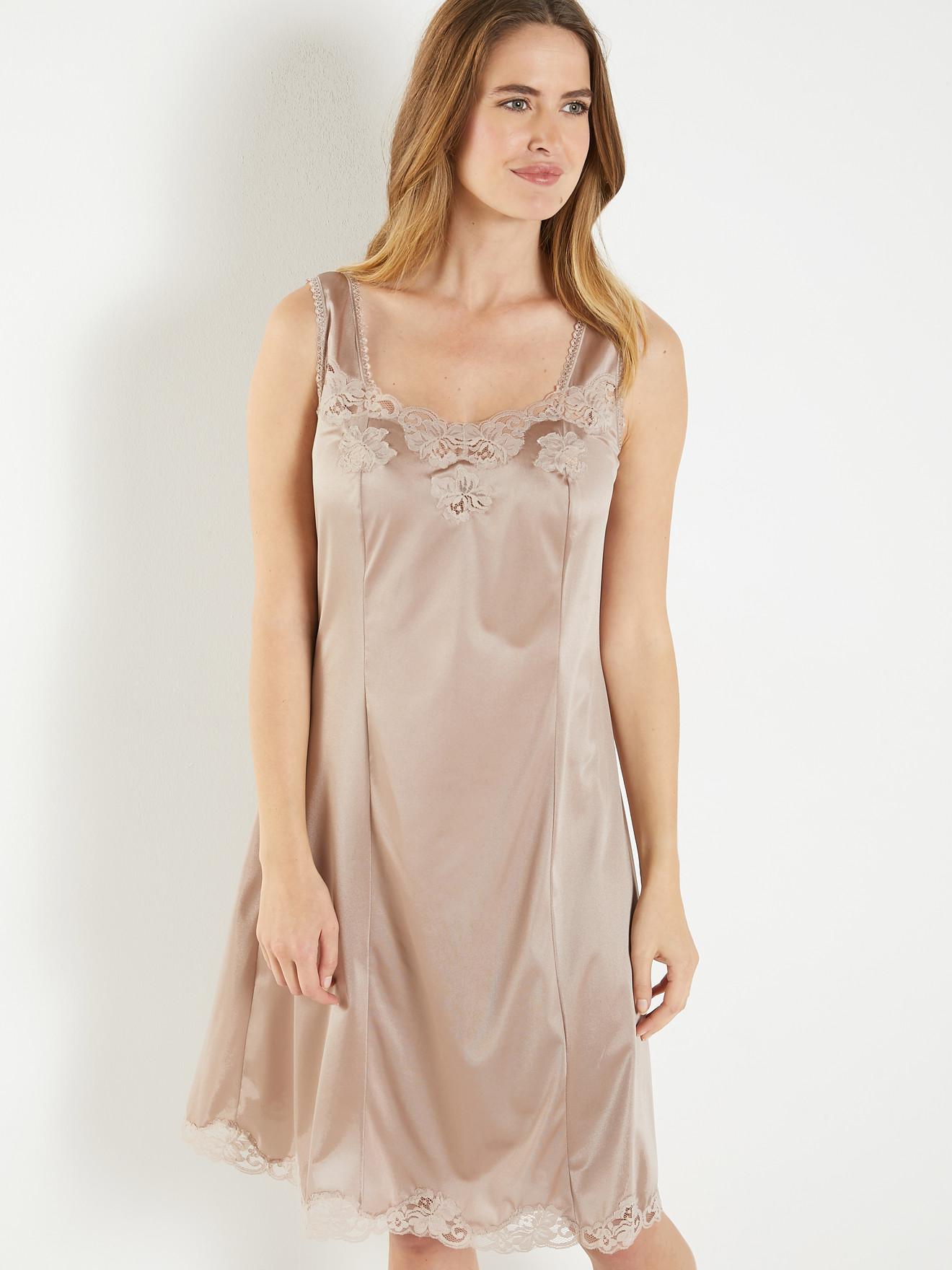 Fond de robe en pur coton