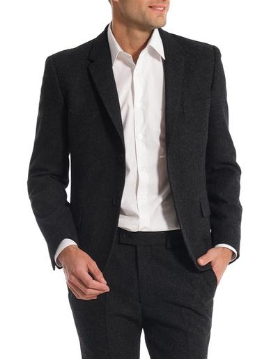 Veste de costume, vous mesurez - d'1,73m - Les essentiels - Anthracite