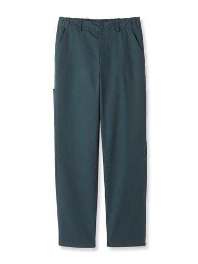 Lot de 2 pantalons multipoches - Honcelac - Vert foncé
