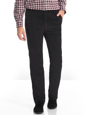 Pantalon droit en velours