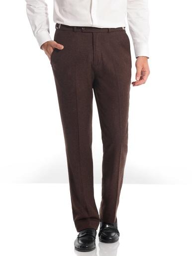 Pantalon à ceinture réglable - Honcelac - Marron