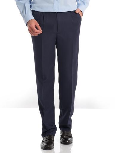 Pantalon droit tout confort - Honcelac - Marine