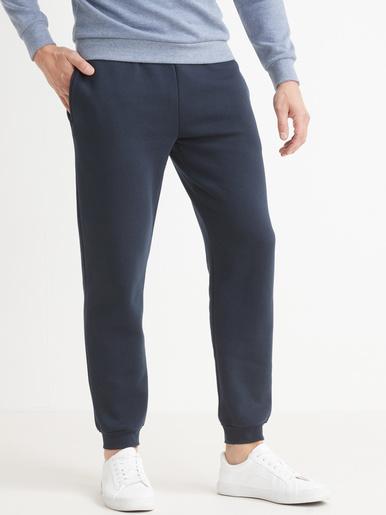 Pantalon de sport molleton gratté - Honcelac - Marine