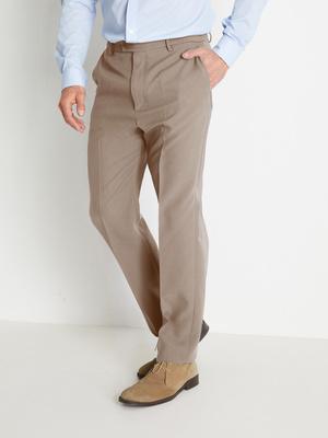 Pantalon ville élastiqué toucher laineux