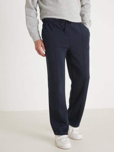 Pantalon de jogging molleton gratté - Honcelac - Marine