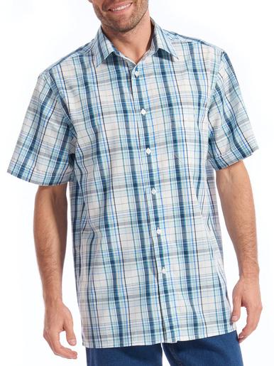 Chemises manches courtes lot de 2 - Honcelac - Carreaux multicolore + carreau