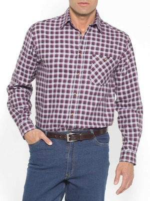 Chemise à carreaux, lot de 2