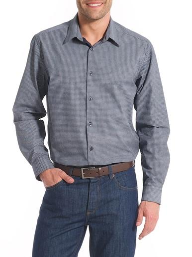 Chemise manches longues, coupe ample - Balsamik - Imprimé marine