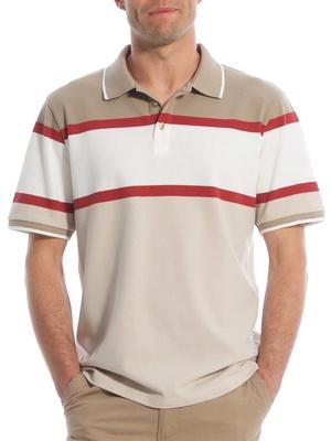 Polo manches courtes pur coton