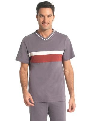 Pyjashorts à rayures en jersey lot de 2