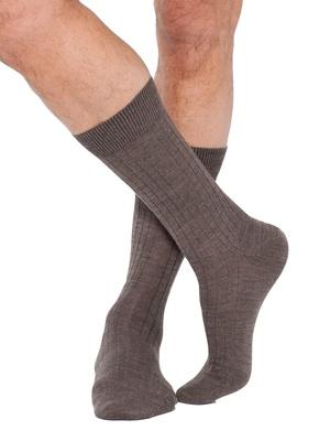 Mi-chaussettes laine mérinos 2 paires