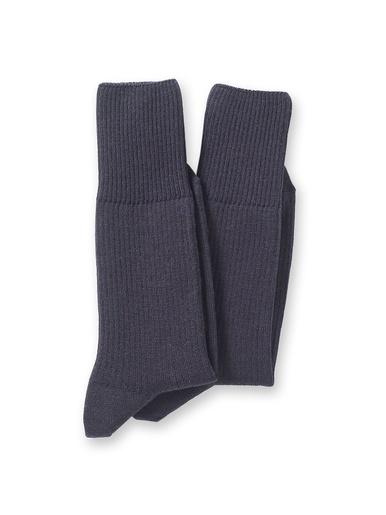 Mi-chaussettes Labonal lot de 2 paires - Labonal - Marine